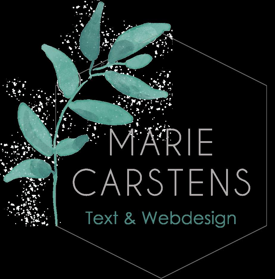 SEO-Texte und Webdesign von Marie Carstens aus Hamburg